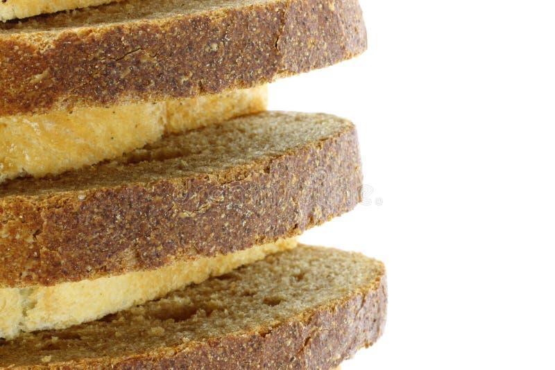 面包剪切 图库摄影