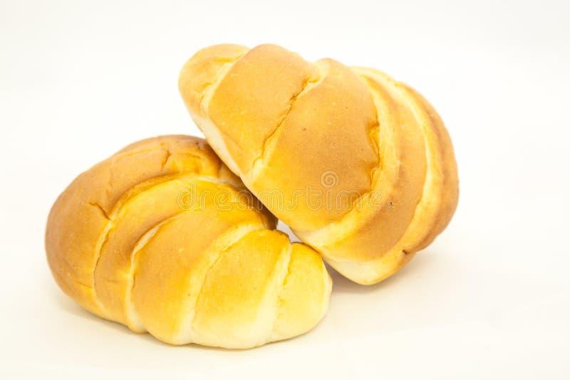 面包卷甜白色 免版税库存图片