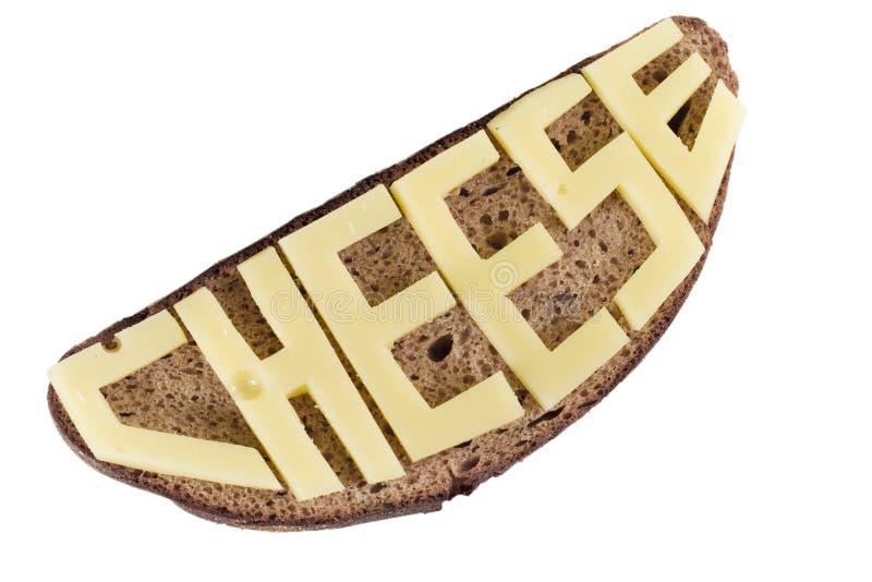 面包和干酪 免版税图库摄影