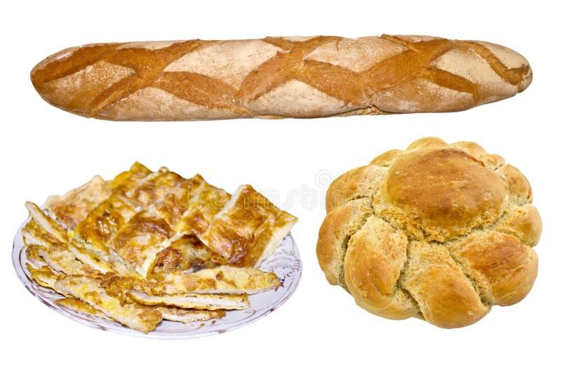 面包和饼 库存图片