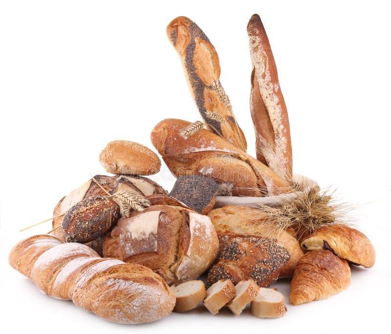 面包堆 库存照片
