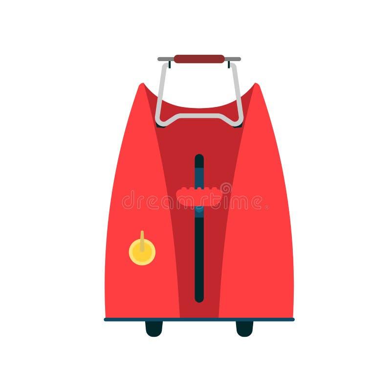 面包多士炉传染媒介例证食物厨房 早餐动画片装置被隔绝的设备 烤箱外壳三明治 库存例证