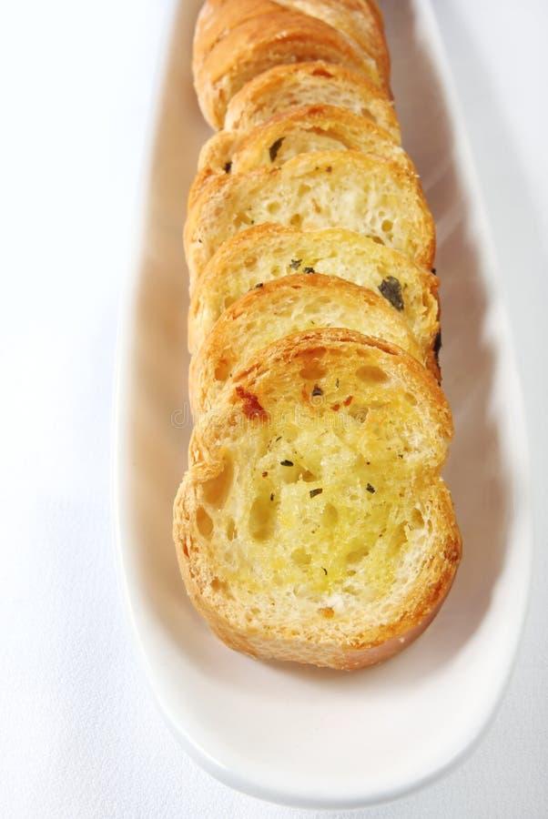 面包大蒜 图库摄影