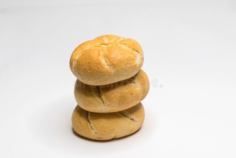 面包小圆面包 免版税图库摄影