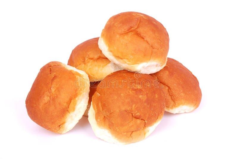 面包小圆面包 库存图片
