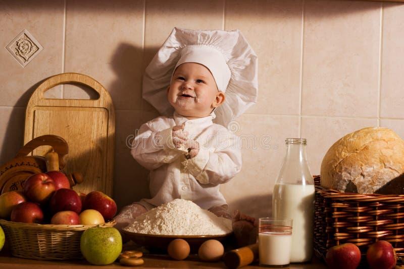 面包师一点 免版税图库摄影
