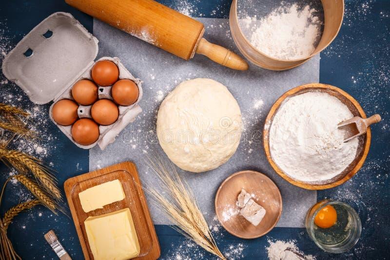 面包店产品成份  免版税图库摄影