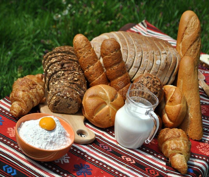 面包店产品 图库摄影