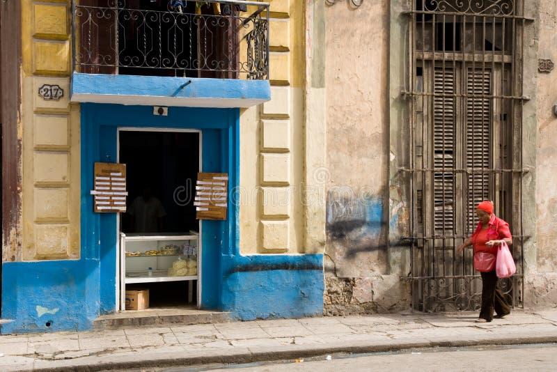 面包店和哈瓦那夫人, 免版税库存图片