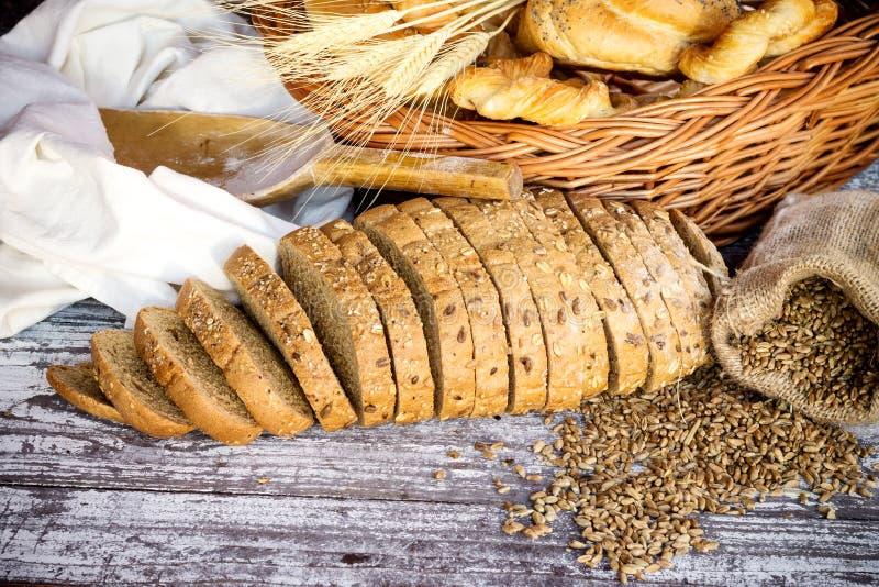 面包店设计图象产品 免版税库存照片
