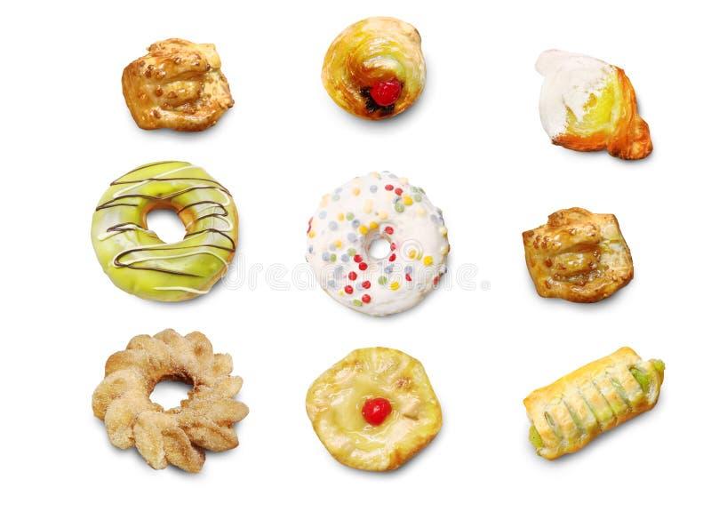 面包店食物想法系列- 图库摄影