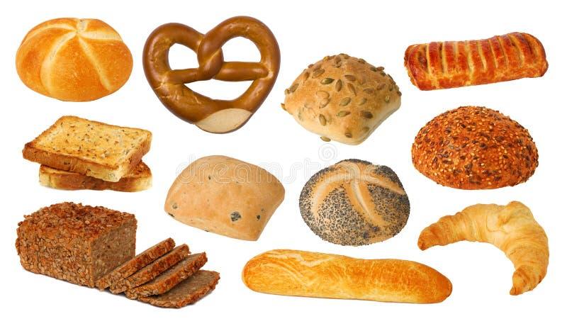 面包收集 免版税库存图片