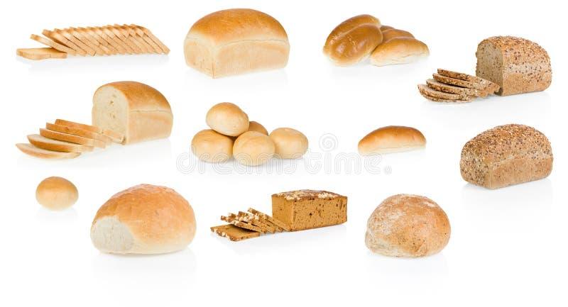 面包收集 库存图片