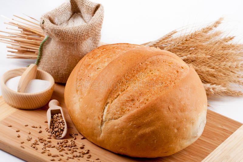 面包构成 免版税库存图片