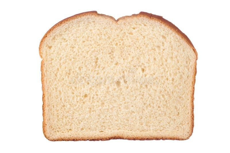 面包查出的片式白色 图库摄影
