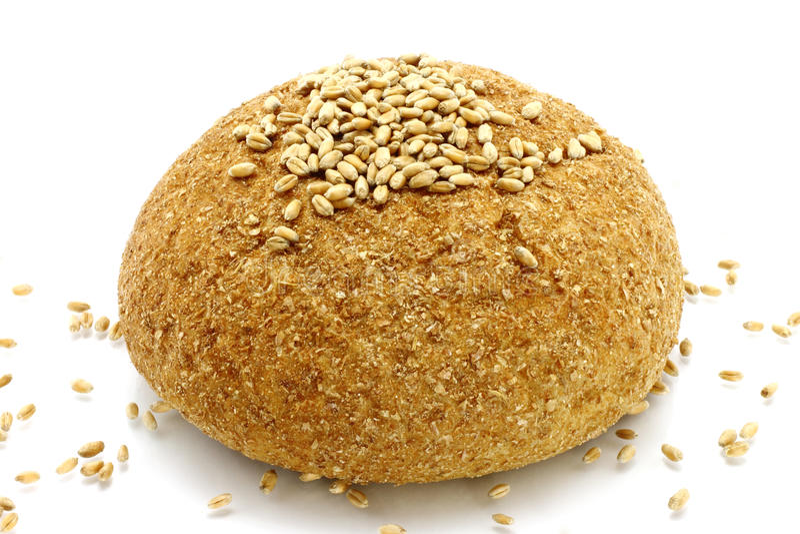 面包植入麦子 库存照片