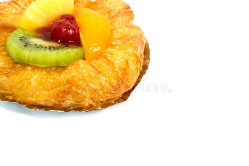 面包樱桃果酱 图库摄影