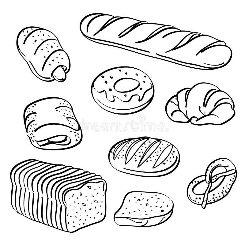 面包汇集 库存图片