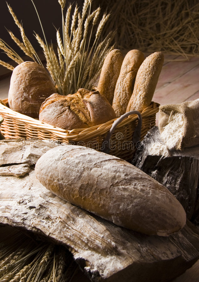 面包混合 免版税库存照片