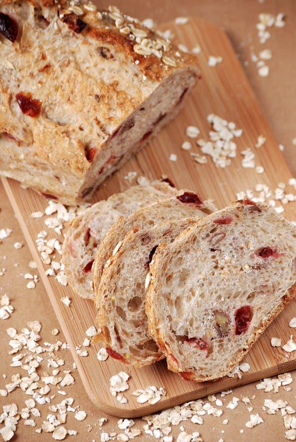 面包燕麦粥 免版税库存图片
