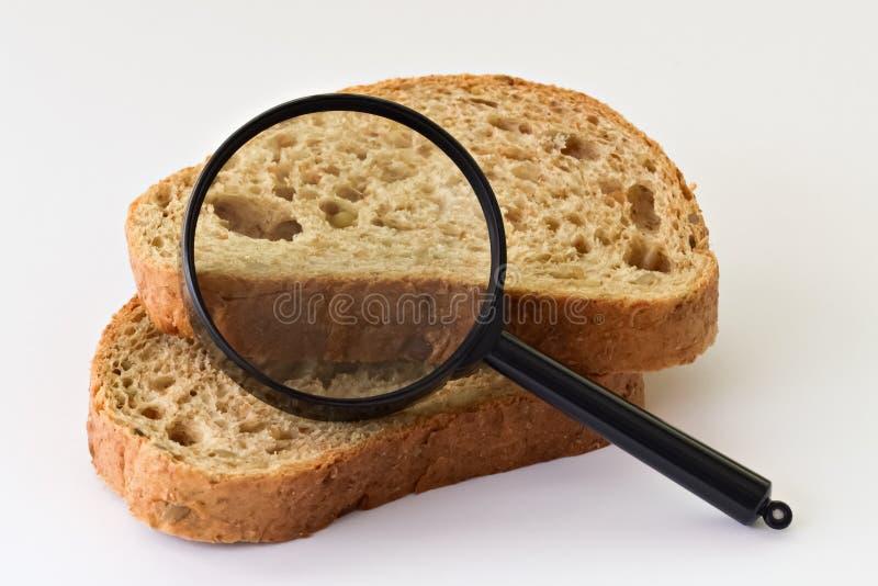 面包片和放大器 免版税库存图片