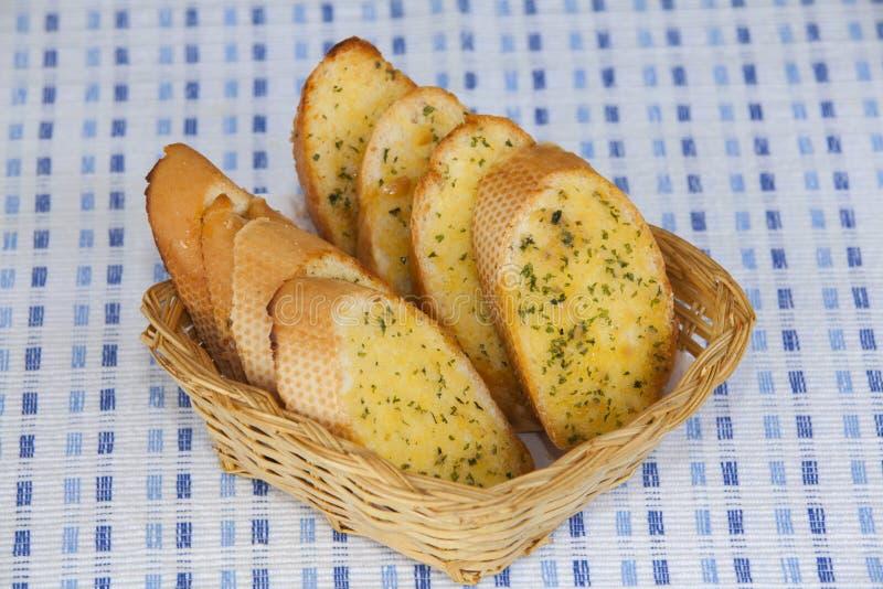 面包菜单 图库摄影