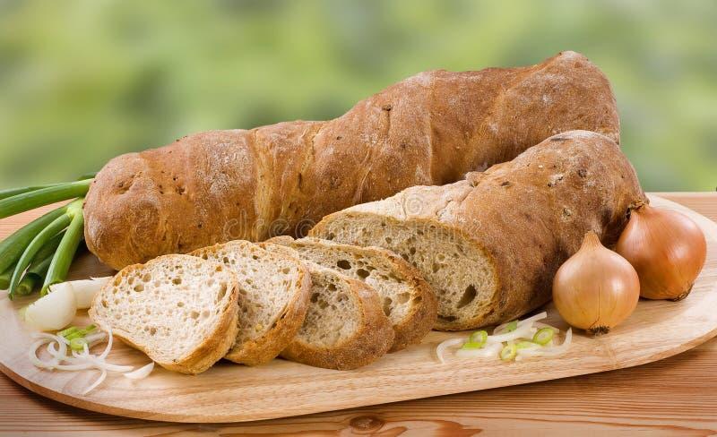 面包葱 免版税库存照片