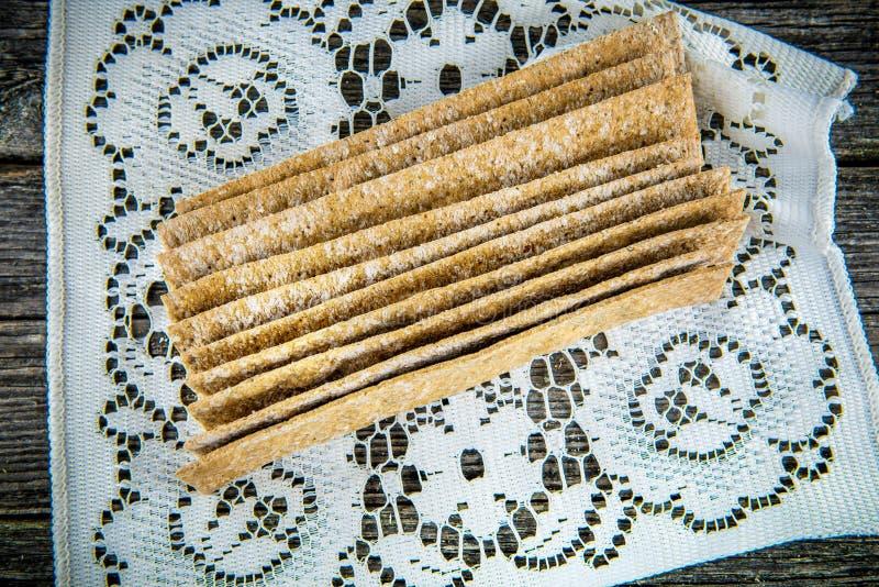 面包薄脆饼干 图库摄影