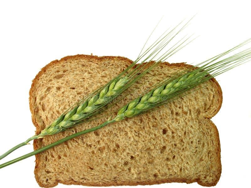 面包钉牢麦子 库存照片