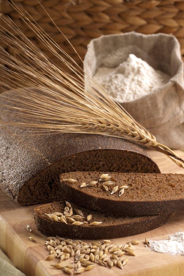 面包黑麦 免版税库存照片