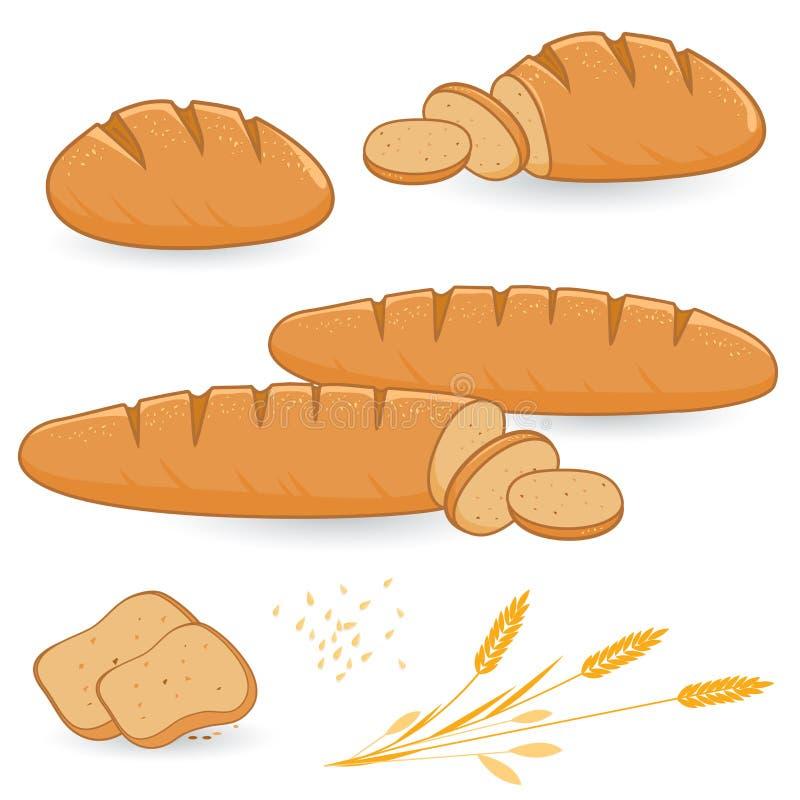 面包 库存例证