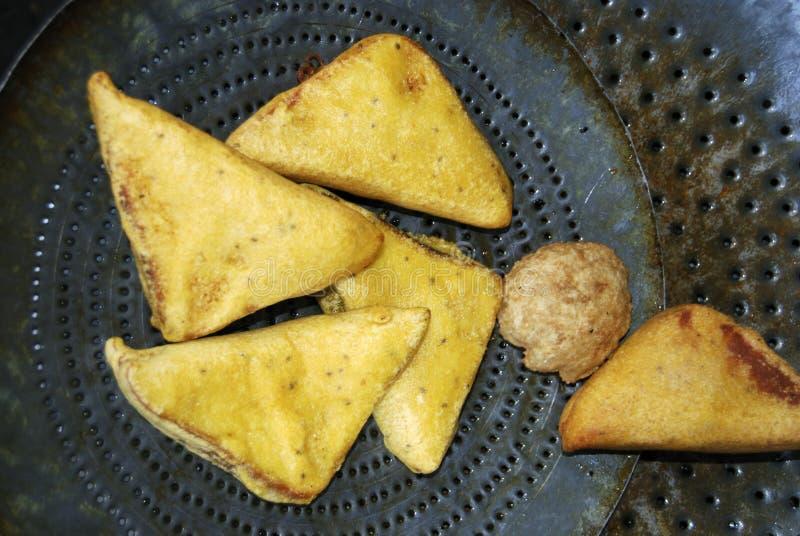 面包Pakora -是一鲜美快餐和chaat 库存照片