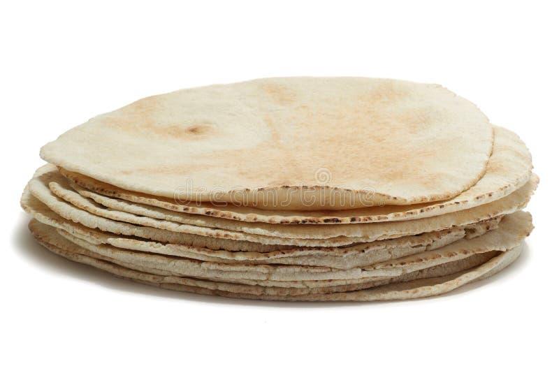 面包pita栈 免版税库存图片