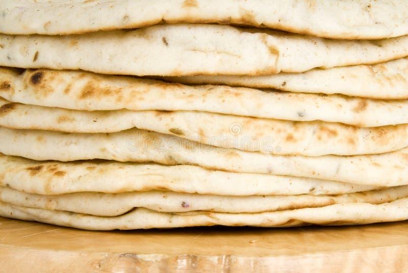 面包pita栈 免版税库存照片