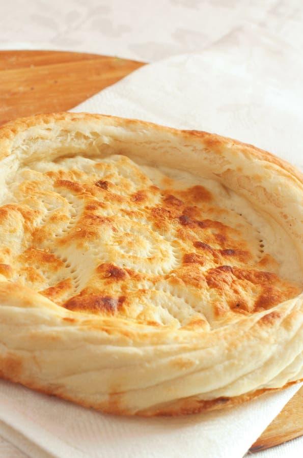 面包pita 库存照片