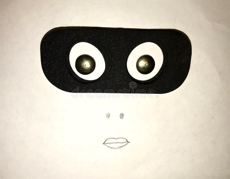 面孔的综合图象 免版税库存照片