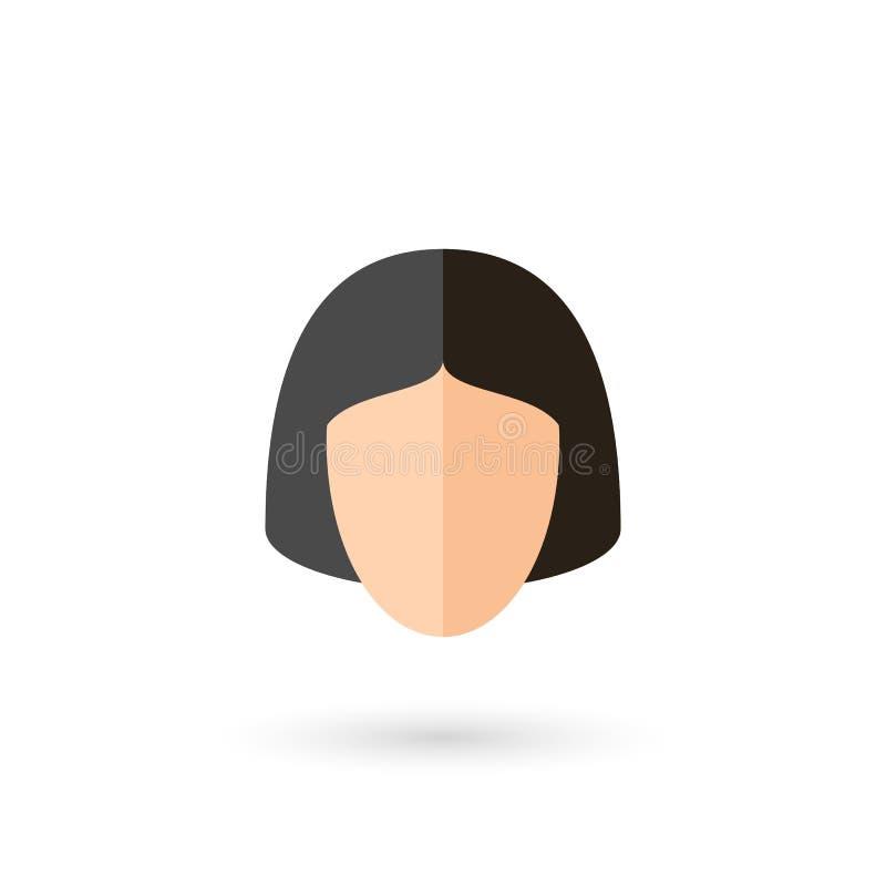 面孔象 向量例证