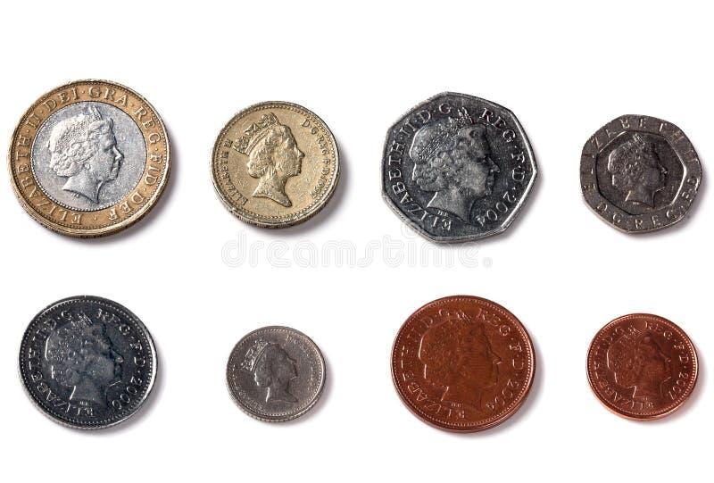 面对查出的王国的回到硬币团结 免版税库存图片