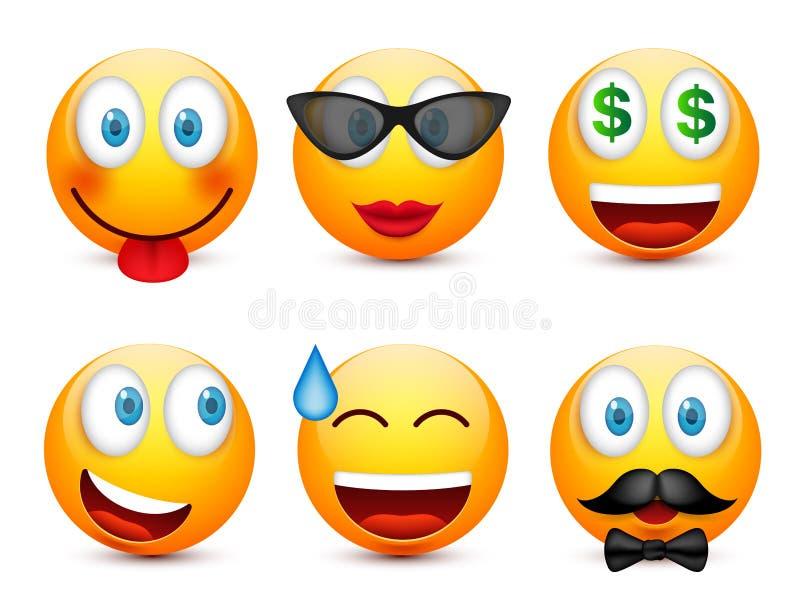 面带笑容,意思号集合 黄色面孔激动,心情 表情,现实emoji 哀伤,愉快图片