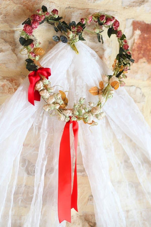 面纱婚礼 库存图片