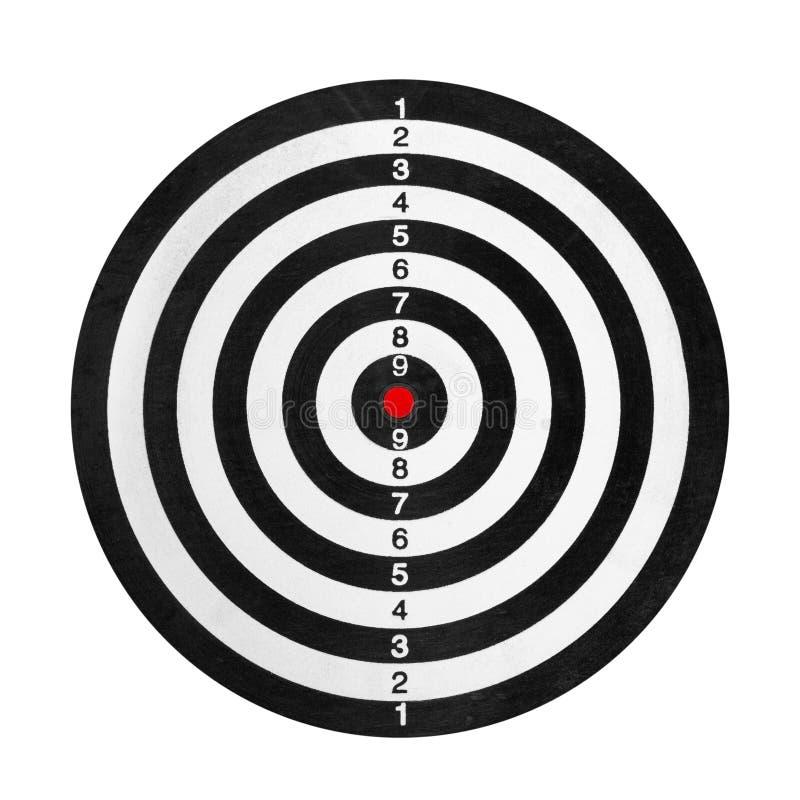 靶场目标 向量例证