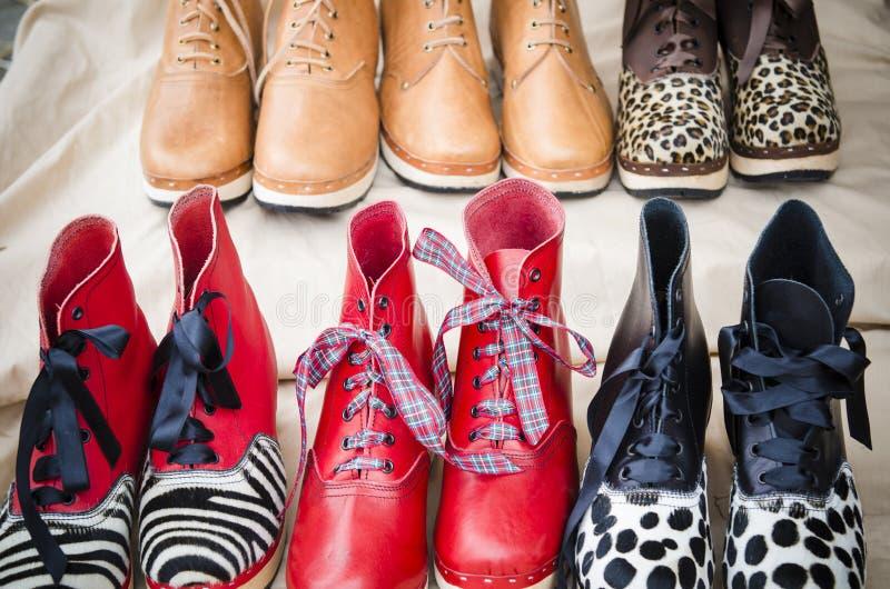 鞋匠的卖点 免版税库存图片