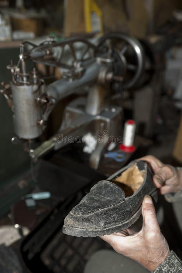鞋匠 免版税库存图片