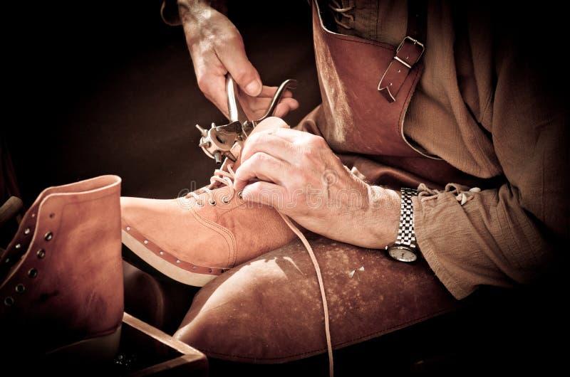 鞋匠 库存照片