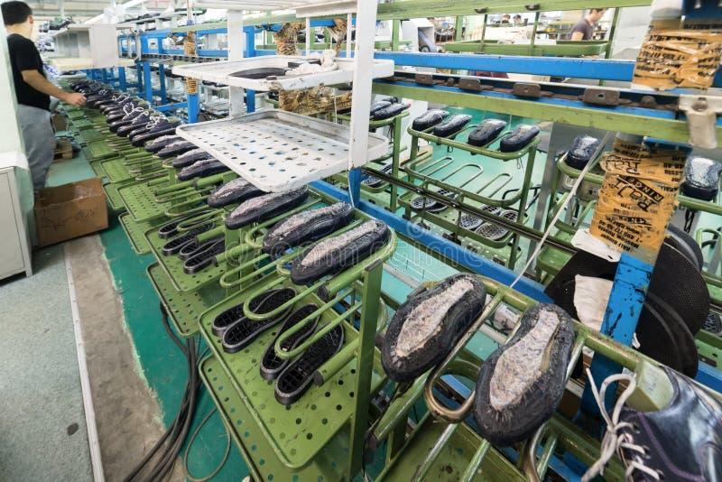 download 鞋厂的传动机 图库摄影片.
