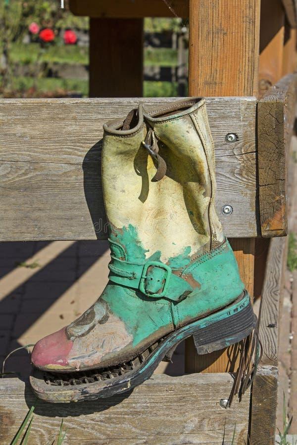鞋子回收特别种类 图库摄影