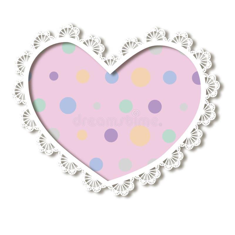 Download 鞋带心脏 库存例证. 插画 包括有 粉红色, 纸张, 空白, 小点, 短上衣, 装饰, 设计, 高雅, 要素 - 30333989