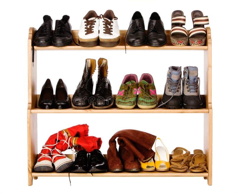 鞋类军团 库存照片
