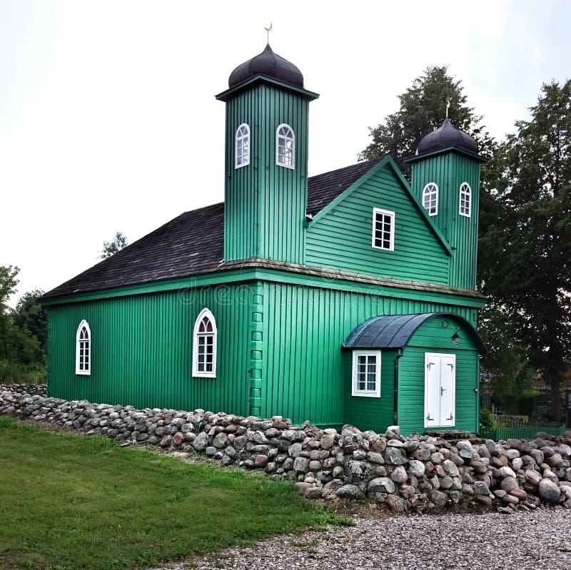 鞑靼人的清真寺 免版税库存照片