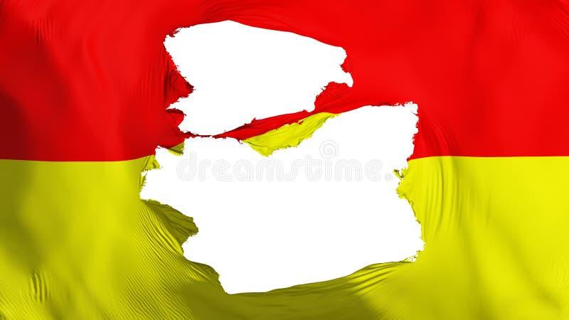 鞑靼比勒陀利亚市旗 库存例证